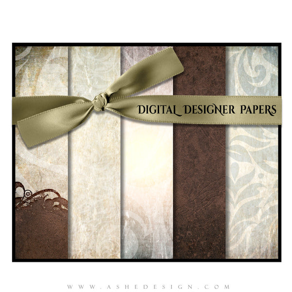 Digital Designer Paper Set - Kyra Ann