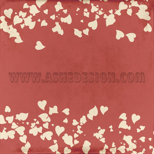 Digital Designer Paper Set - My Valentine