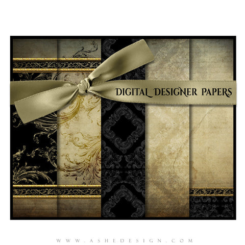 Digital Designer Paper Set - Rejoice