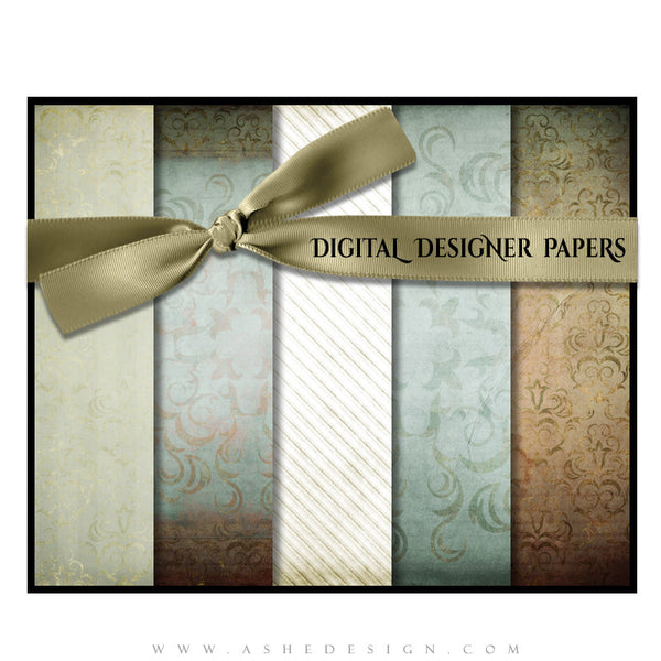 Digital Designer Paper Set - Something Old