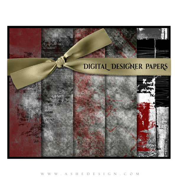 Digital Designer Paper Set - Special Elite