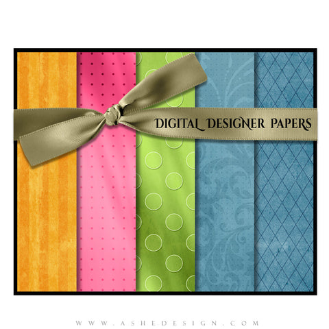 Digital Designer Paper Set - Spring Fling (Vol. 1)
