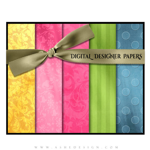 Digital Designer Paper Set - Spring Fling (Vol. 2)