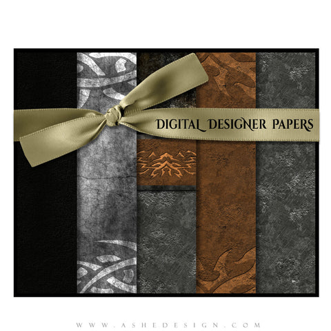 Digital Designer Paper Set - Tattooed