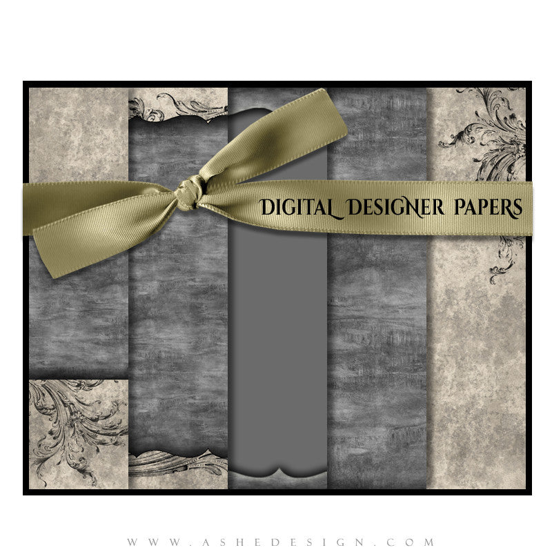 Digital Designer Paper Set - Timeless Beauty
