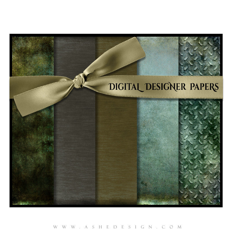 Digital Designer Paper Set - Urban Blade