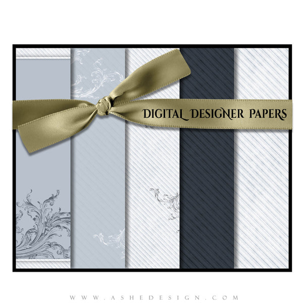 Digital Designer Paper Set - Wings Of Love