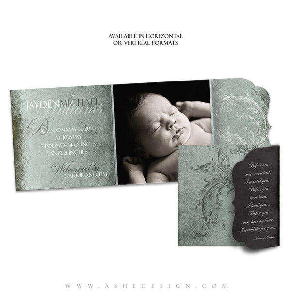 Folded_Luxe_5x5_Birth_Announcement
