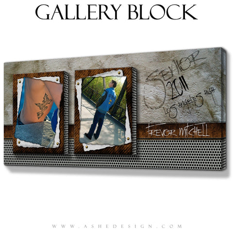 Gallery Block Design - Scrap Metal