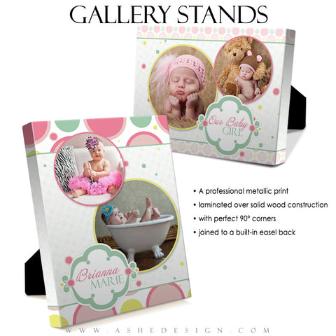 Gallery Stand Design (5x7) - Bubble Gum Pink
