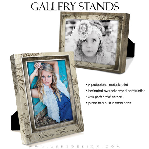 Gallery Stand Design (5x7) - Catherine Alise