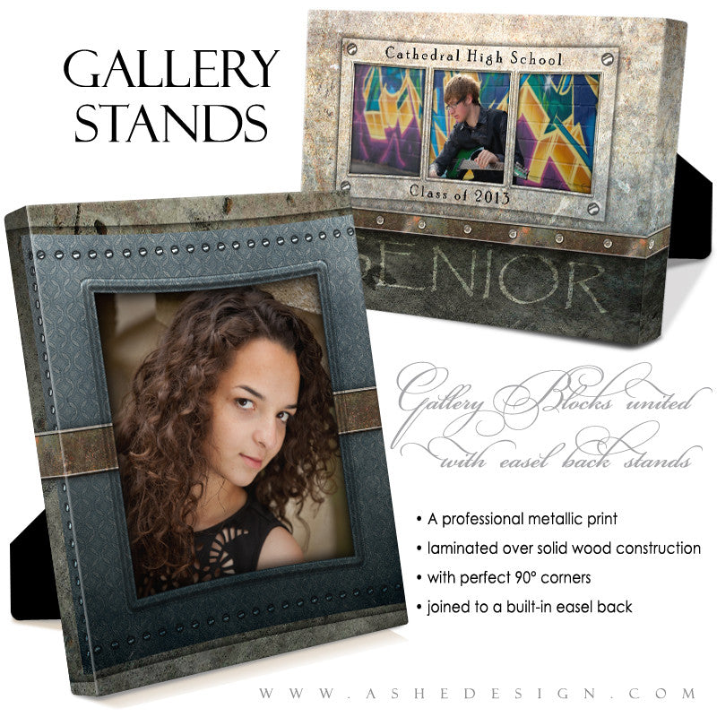 Gallery Stand Design (5x7) - Granite