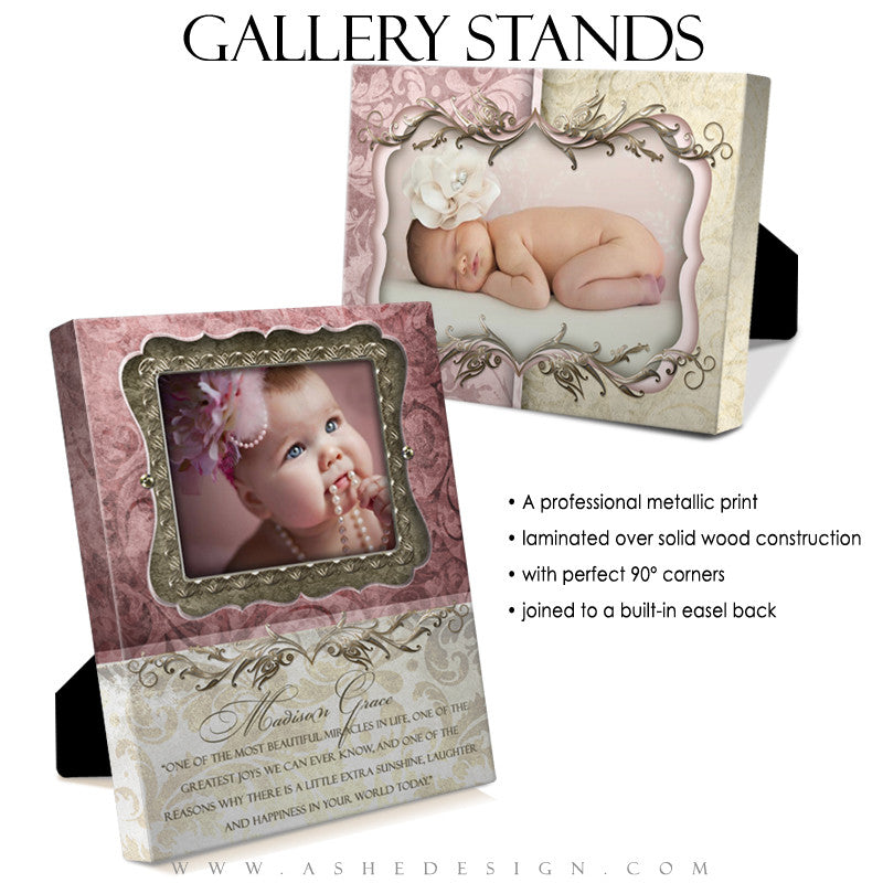 Gallery Stand Design (5x7) - Madison Grace