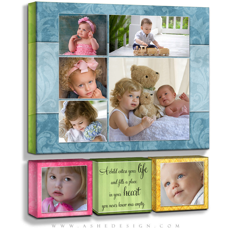 Gallery Wrap Collection Designs - Spring Fling