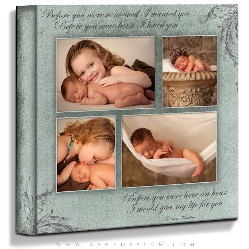 Ashe Design | A Mother's Love 16x16 Gallery Wrap