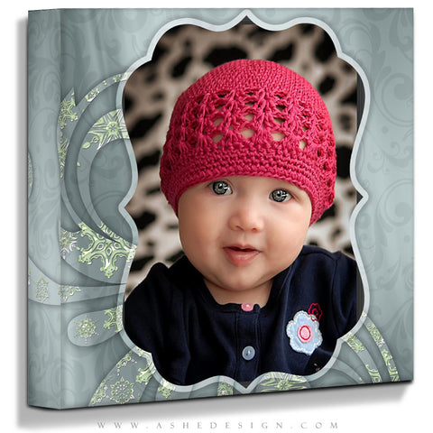 Ashe Design | Believe 16x16 Gallery Wrap