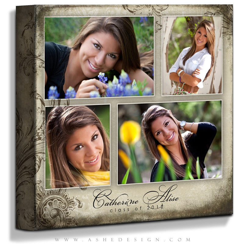 Ashe Design | Catherine Alise 16x16 Gallery Wrap