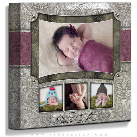 Ashe Design | Natalie Marie 16x16 Gallery Wrap