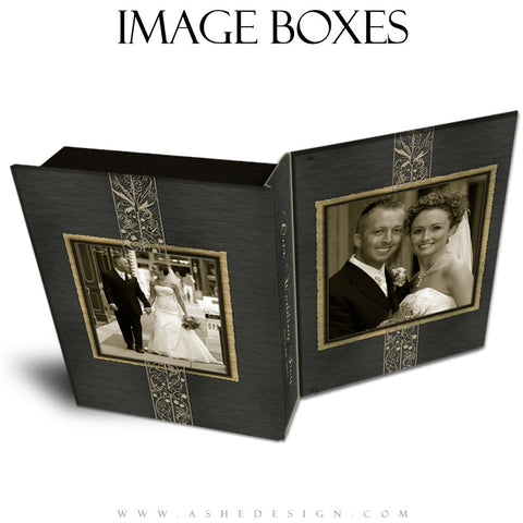 Wedding Image Box Templates - Brushed Lace