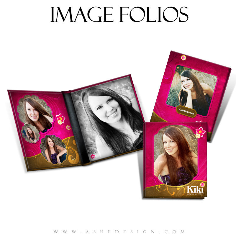 Image Folio Design - Chocolate Raspberry Swirl