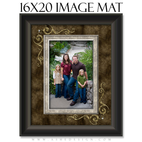 Image Mat Design (16x20) - Embossed