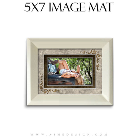 Image Mat Design (5x7) - Embossed