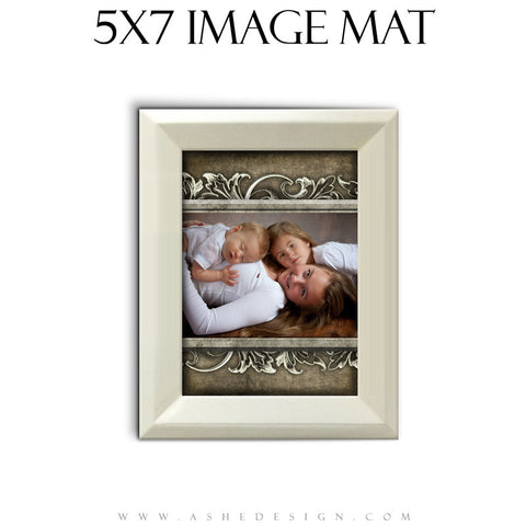 Image Mat Design (5x7) - Whitewashed