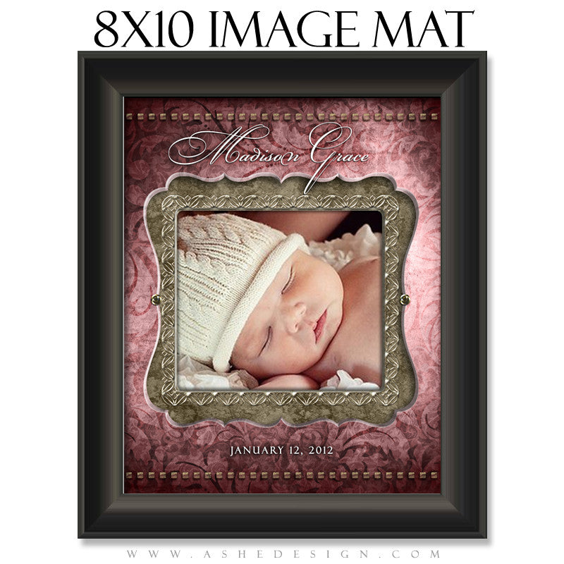 Image Mat Design (8x10) - Madison Grace