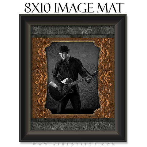 Image Mat Design (8x10) - Tattooed