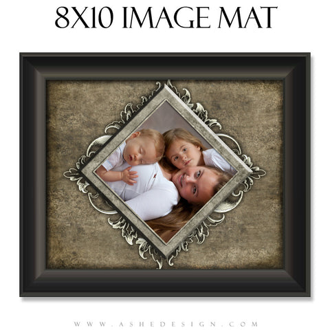 Image Mat Design (8x10) - Whitewashed