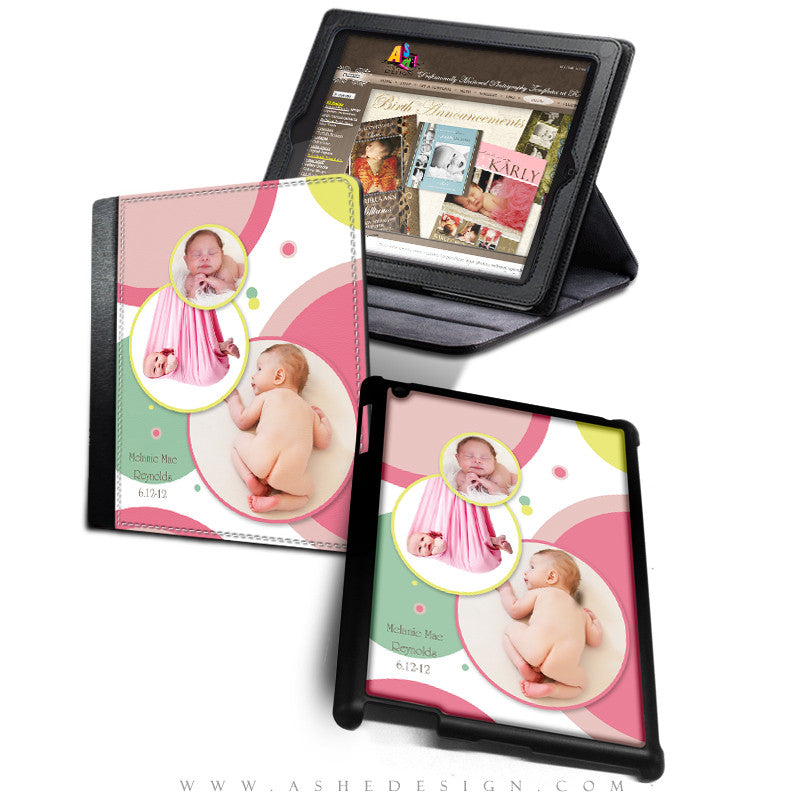 iPad Cover Designs - Bubble Gum Pink