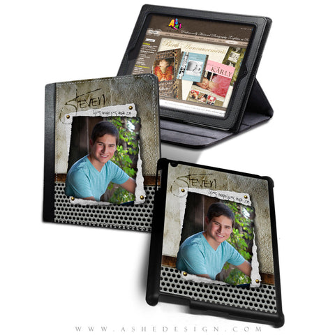 iPad Cover Designs - Scrap Metal