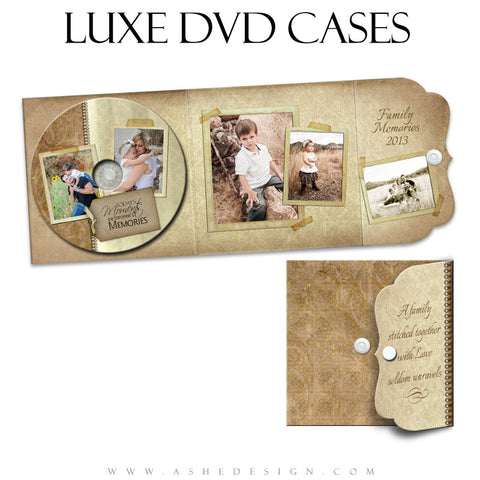 A Stitch In Time Luxe CD Case Template