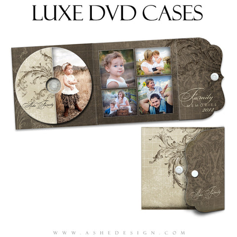 Luxe DVD Case & Label Designs - Catherine Alise