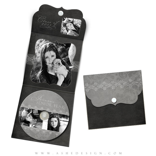 Luxe DVD Case & Label Designs - Chalkboard