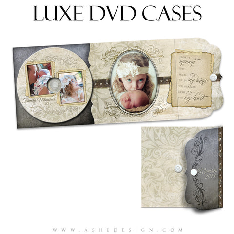 Luxe DVD Case & Label Designs - Love Is