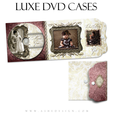 Luxe DVD Case & Label Set - Madison Grace