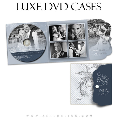 Luxe DVD Case & Label Set - Wings Of Love