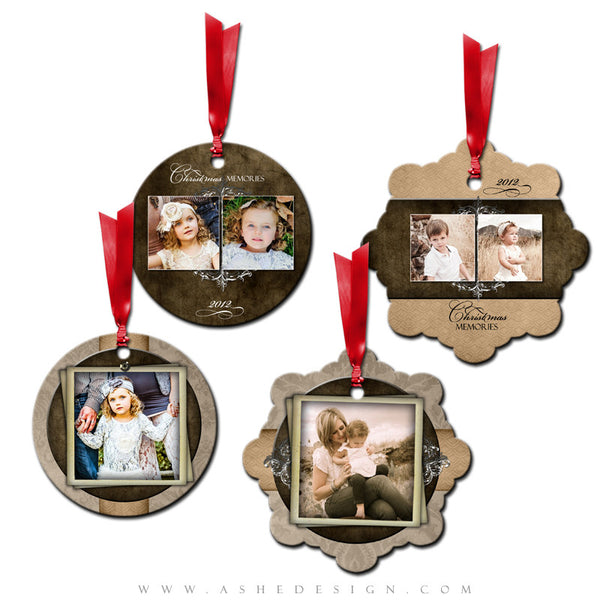 Metal Ornament Design Set - Chocolate Silk