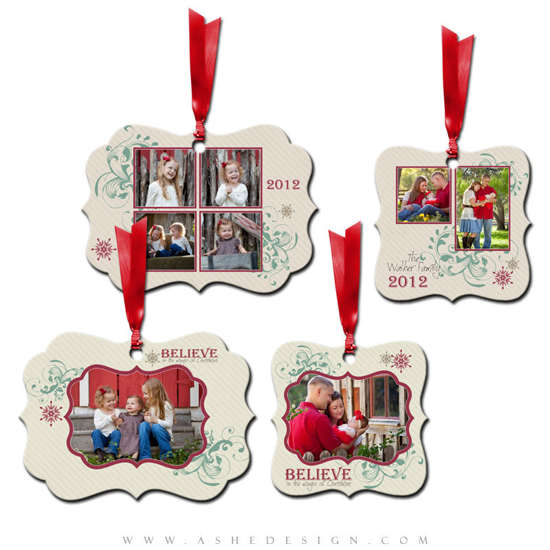 Metal Ornament Design Set - Christmas Magic