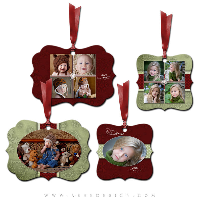 Metal Ornament Design Set - Dear Santa