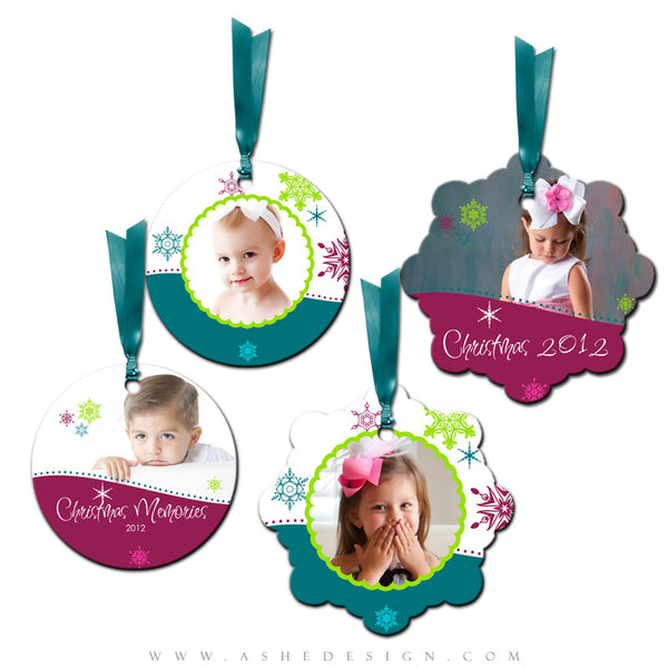 Metal Ornament Design Set - Santa Baby