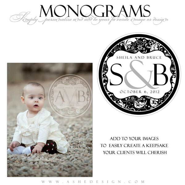 Monogram Design - Elegant