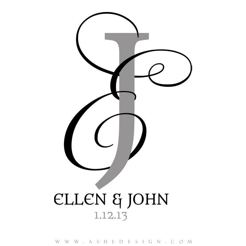Monogram Design - Entwined