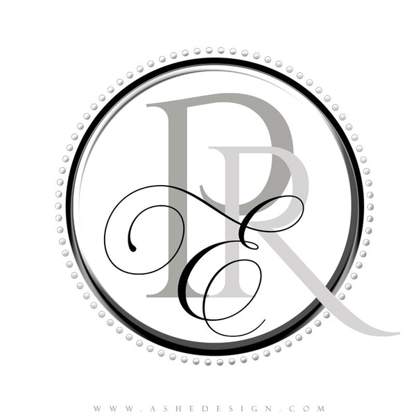Ashe Design |  Monogram Template | Sophisticated1