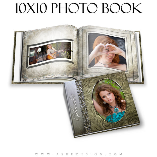 Ashe Design | Senior Girl 10x10 Photo Book | Annalese  cover