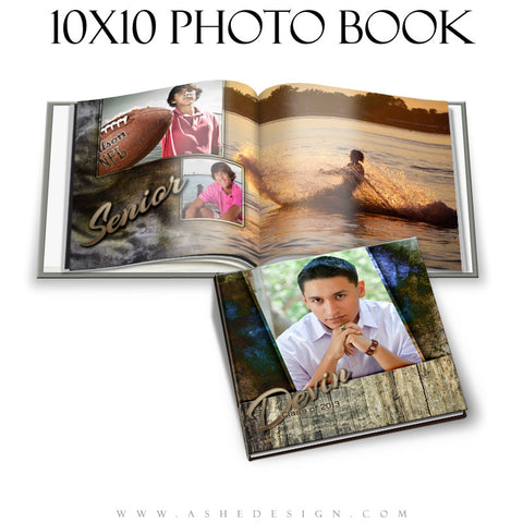 Senior Boy Photo Book (10x10) - Devin Patrick