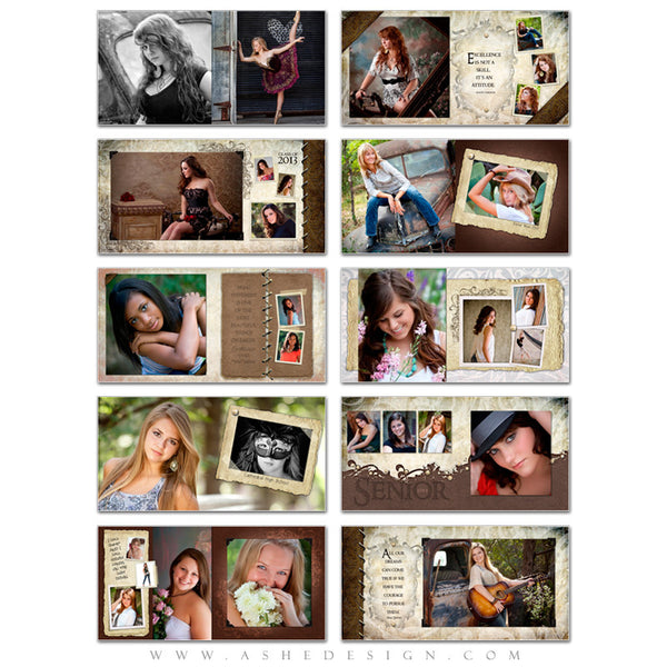 Photo Book Template (10x10) - Kyra Ann