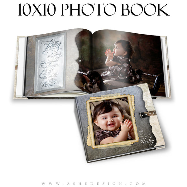 Photo Book Template (10x10) - Love Is