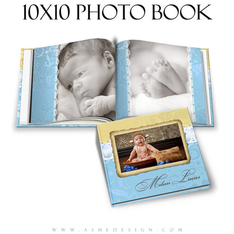 Milan Lucas Photo Book Template